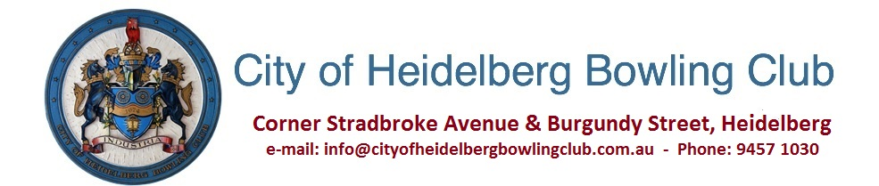 City of Heidelberg Bowling Club
